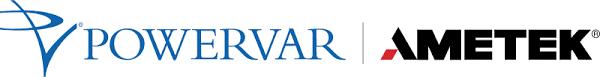 Powervar AMETEK Logo